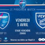 Football : Le Derby FBBP01/FCVB en Réécoute.