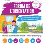 FORUM DE L'ORIENTATION DES M.F.R