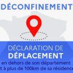 CORONAVIRUS : Attestation 100 km : téléchargez ou générez la déclaration de déplacement