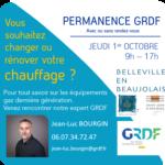 GRDF Journée d'information à Belleville en Beaujolais