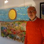 Portrait de l'artiste peintre Eric Chomis