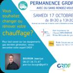 GRDF PERMANENCE VILLEFRANCHE samedi 17 octobre avec DUPLEX RADIO CALADE