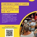 Santé et Séniors, la conférence de Silver Fourchette