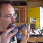 Portrait d'un facteur d'ocarinas