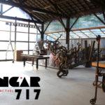 Hangar 717 : lieu de culture par le sculpteur Marc Pedoux