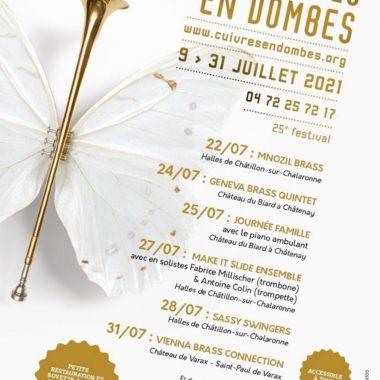 Festival Cuivres en Dombes 2021