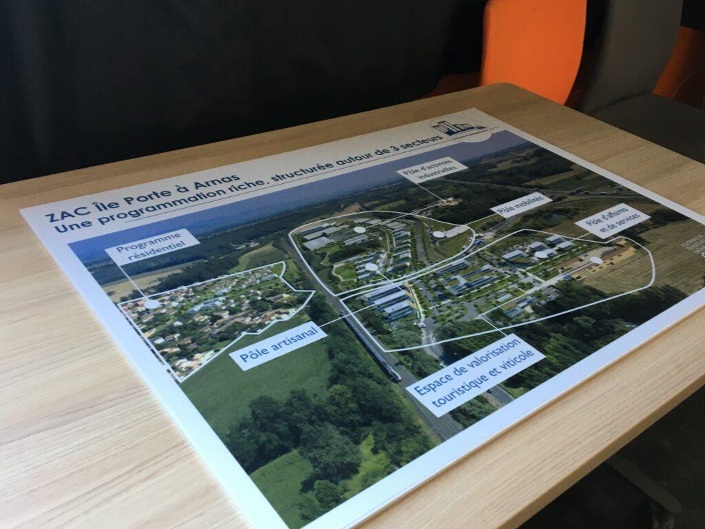 Le plan mandat agglomération côté île Porte